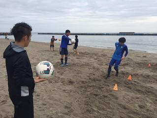 ビーチクリーン活動及びビーチトレーニング