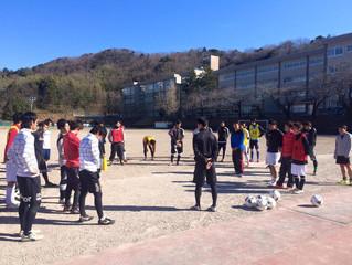 チーム設立初の練習試合開催
