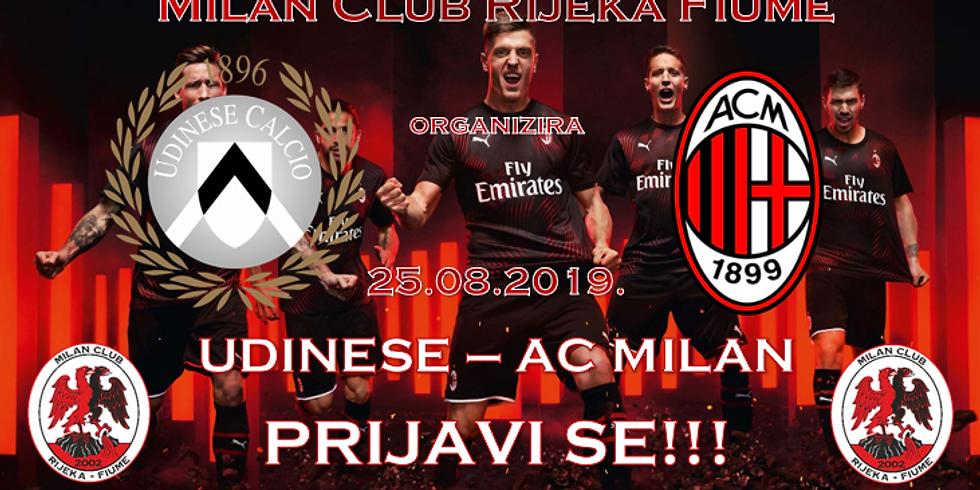 Udinese - AC Milan