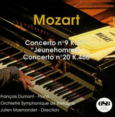 Mozart – Piano Concerto N°9 K.271 & Concerto N°20 K.466
