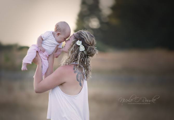 Breastfeeding in the Countryside of Salem, Oregon