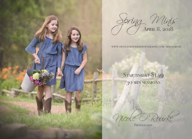 Spring Minis!