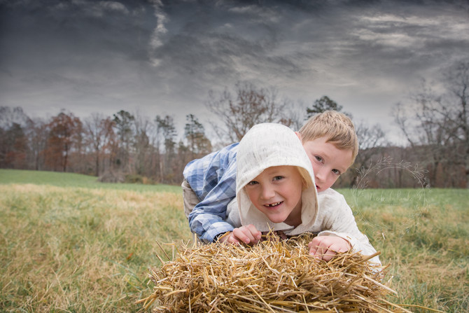 A Family Farm Photoshoot