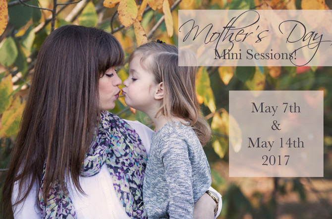 Love & Laughter Mother's Day Mini Sessions