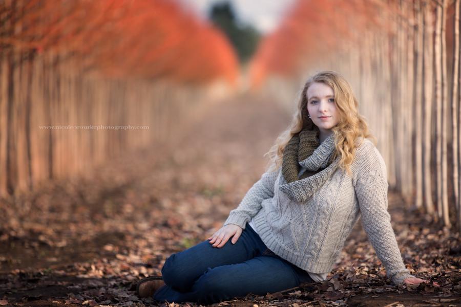 Salem, OR Orchard Winter