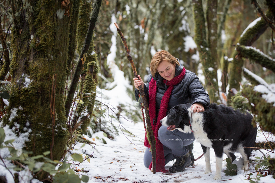 Scappoose, Oregon Winter hiking