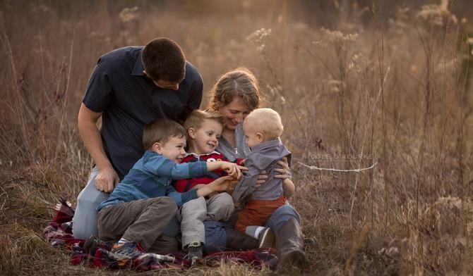 A Winter Family Shoot
