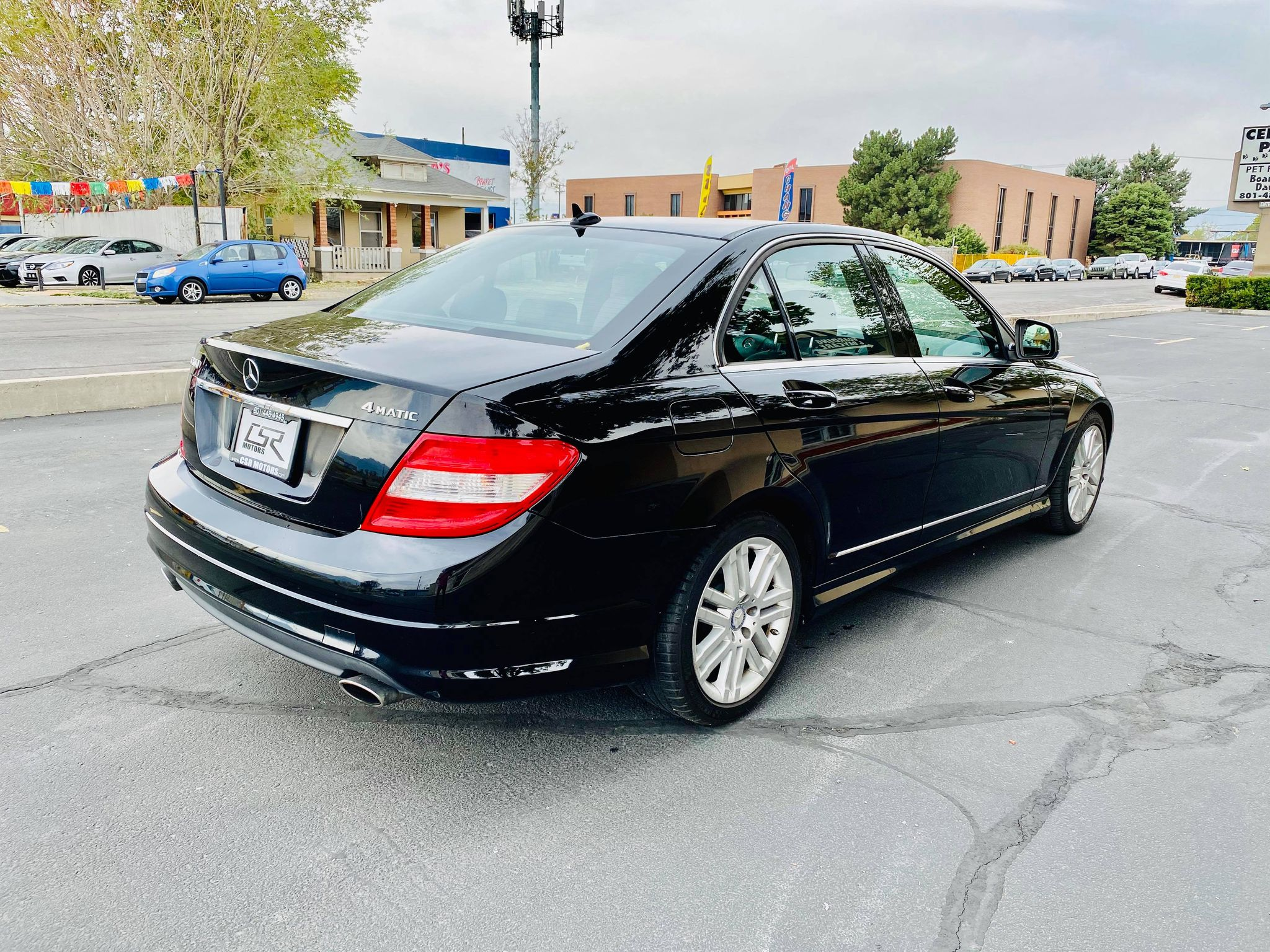 2009 MERCEDES BENZ C300 LUXURY
