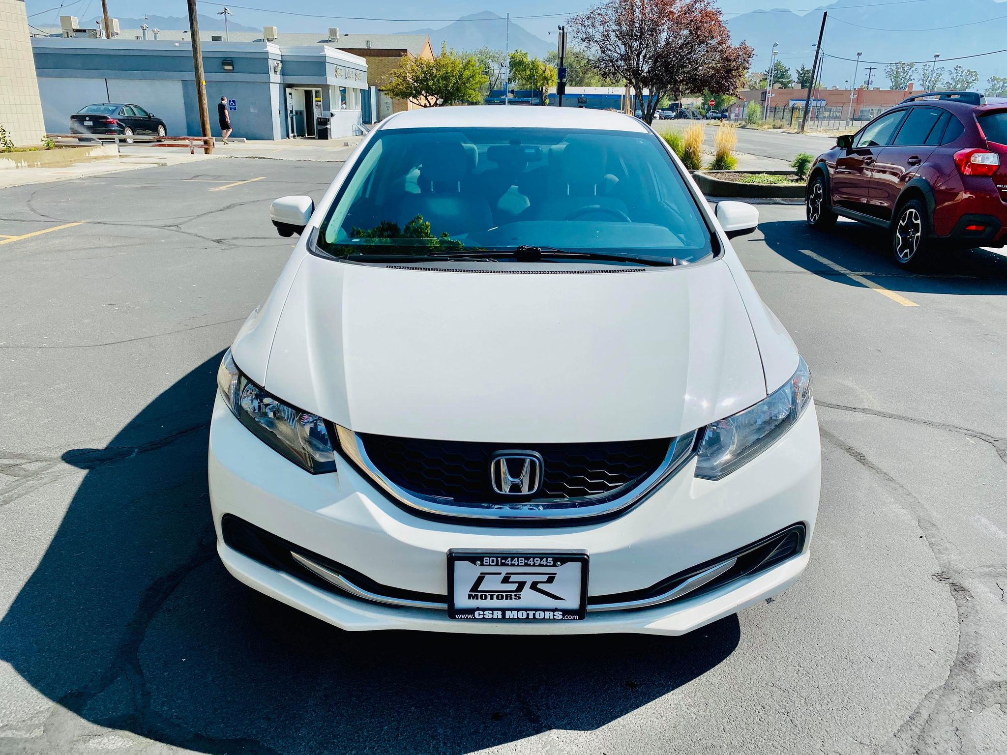 2015 HONDA CIVIC CNG