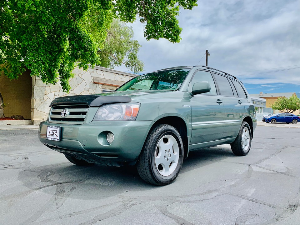 2004 TOYOTA HIGHLANDER LIMITED AWD