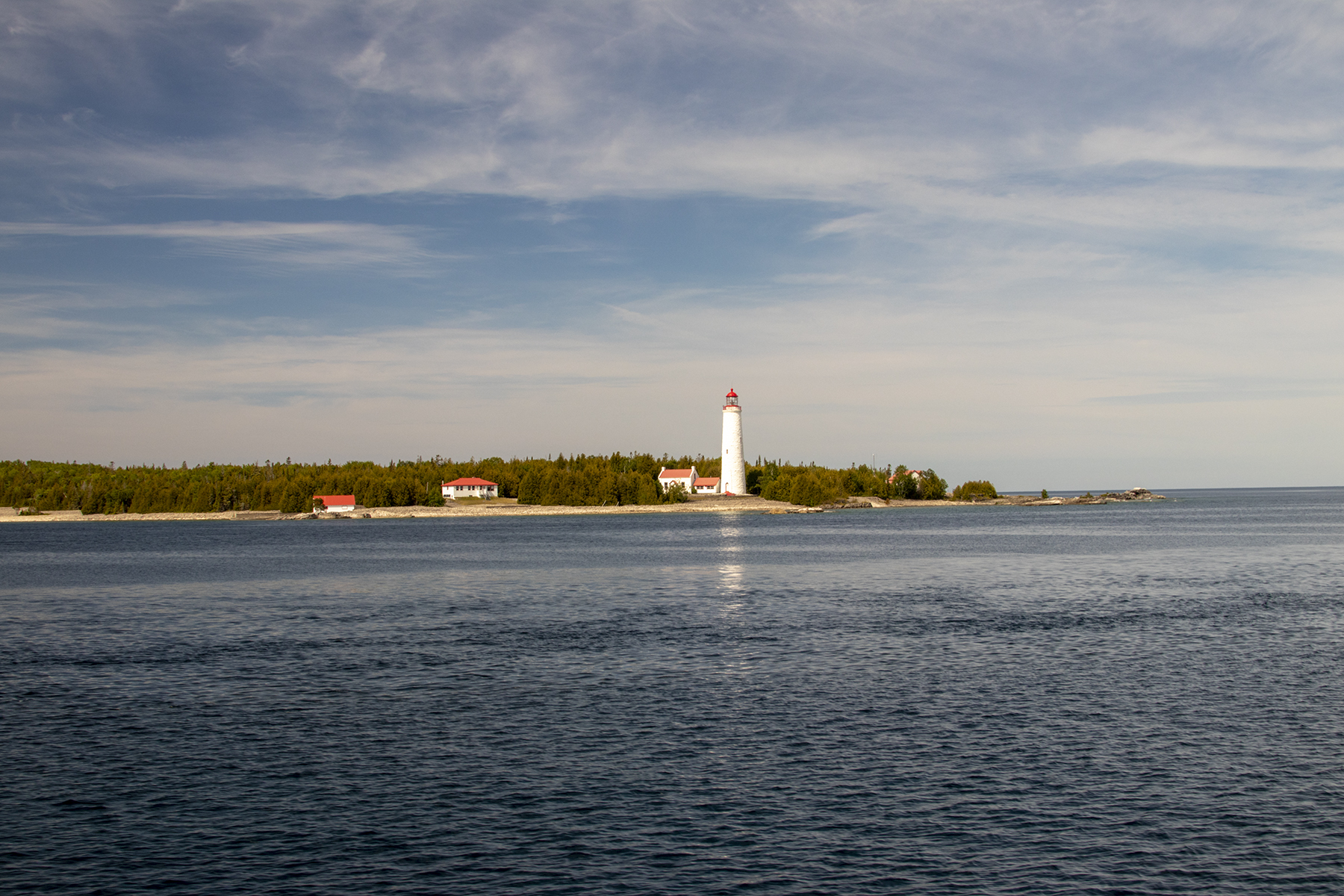 Tobermory into Lake Huron