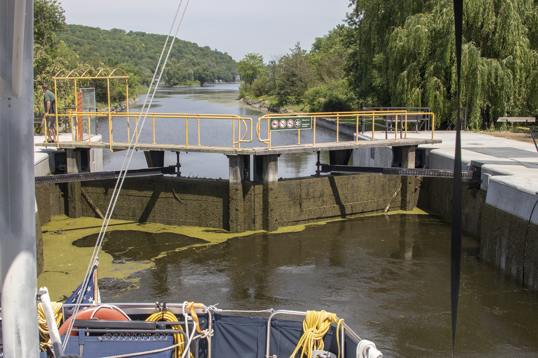 In the lock from whence we came
