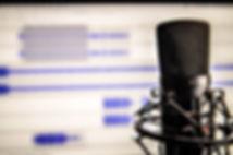 Mikrofon Sound redigering