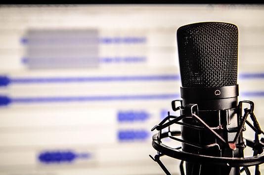 Microfone Edição de Som