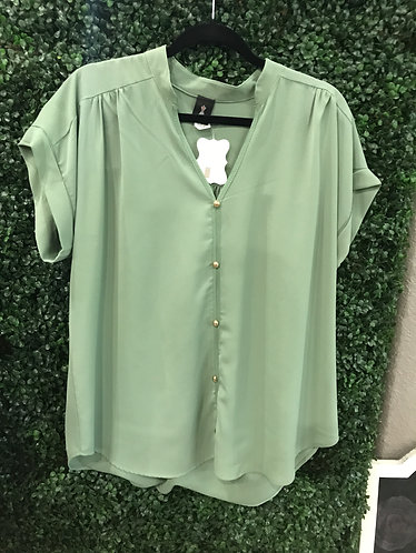 Green Button Top (Plus)
