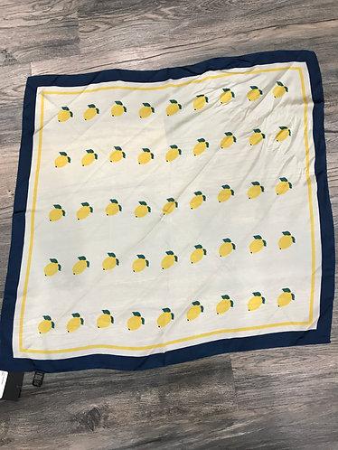 Lemon Print Scarf