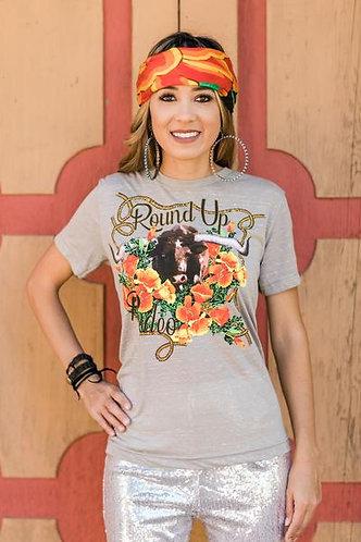 Round Up Rodeo Tee