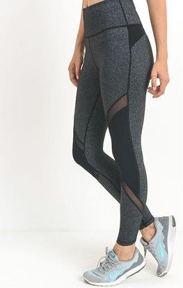 Live Freedom Motto Mesh High Waist Leggings