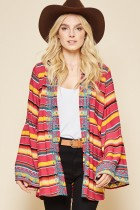 Embroidered Serape Coverup