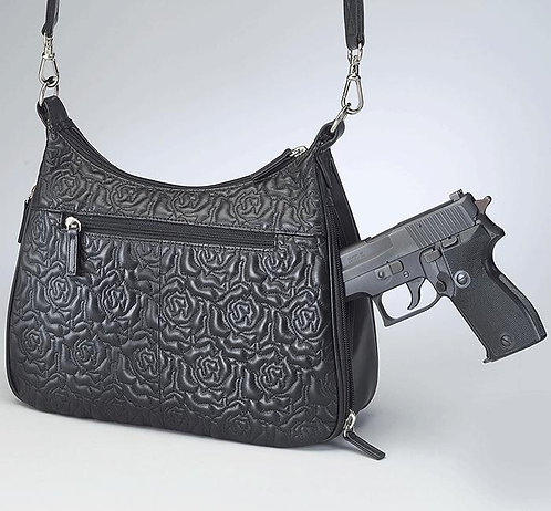 GTM Concealed Carry Lambskin Hobo Bag
