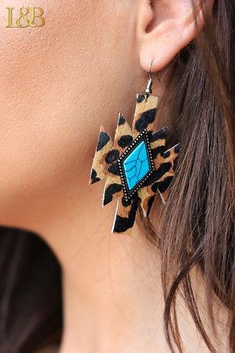 DiamondLeopard Aztec Earrings