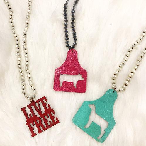 Crazy Train Necklaces
