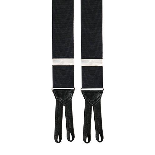 Black Moire Rigid Braces