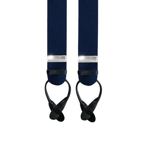 Navy Boxcloth Braces