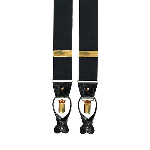Black 2in1 Rigid Braces