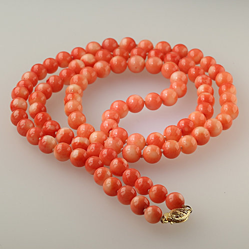 CORAL NECKLACE 14