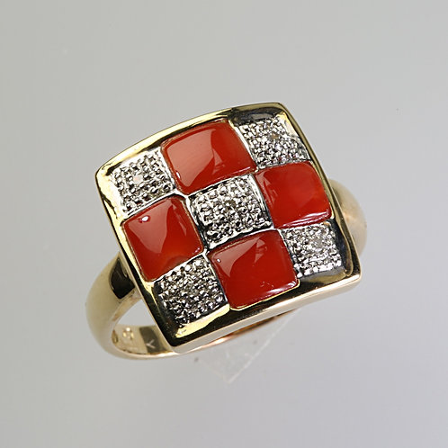 CORAL RING 12
