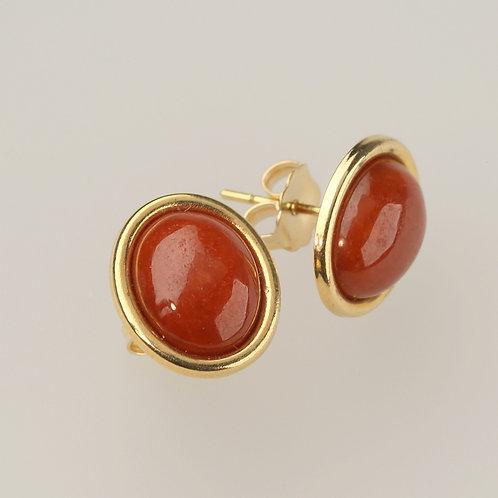 RED JADE EARRING 7