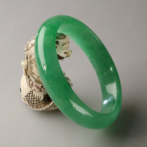 copy of GREEN JADE BANGLE