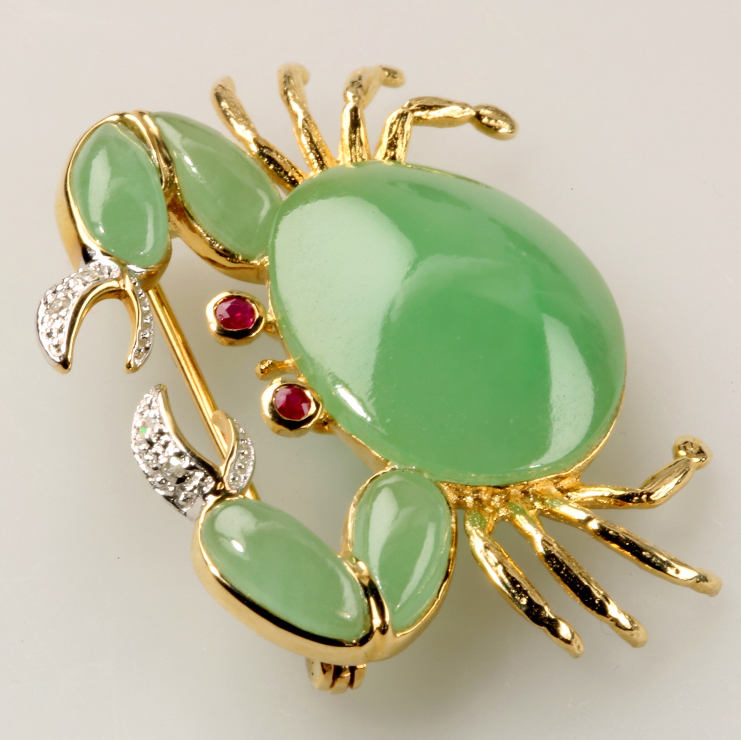 Green Jade Pin