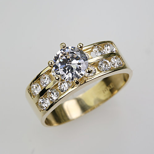 CUBIC ZIRCONIA RING 3