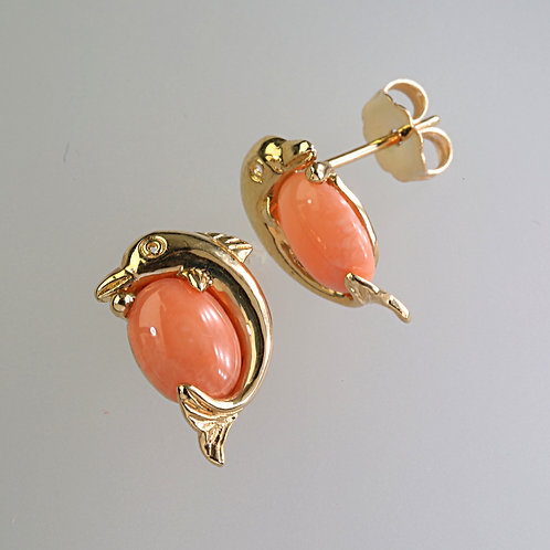 CORAL EARRING 29