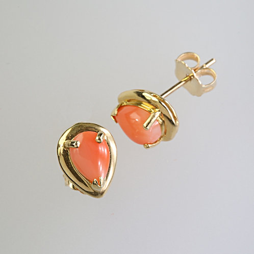 CORAL EARRING 34