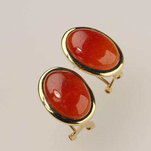 RED JADE EARRING 2