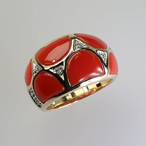 CORAL RING 10