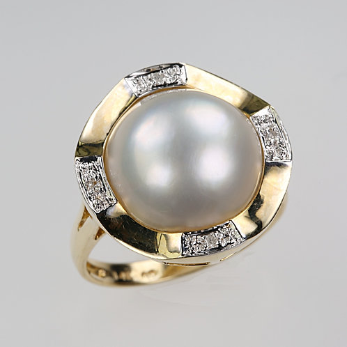 MABE PEARL RING 12