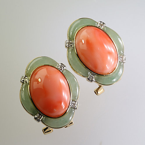 CORAL EARRING 5
