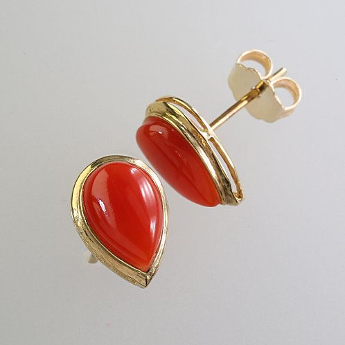 CORAL EARRING 16