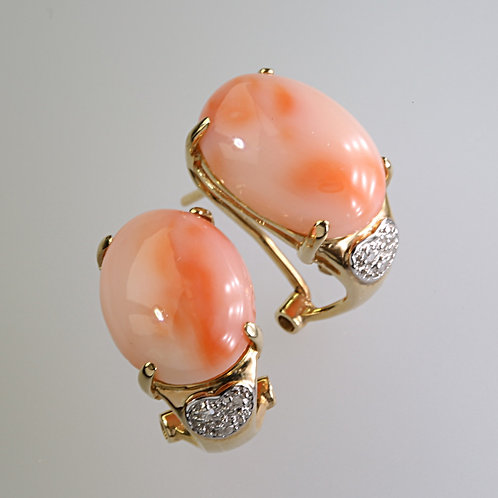 CORAL EARRING 7