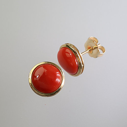 CORAL EARRING 18