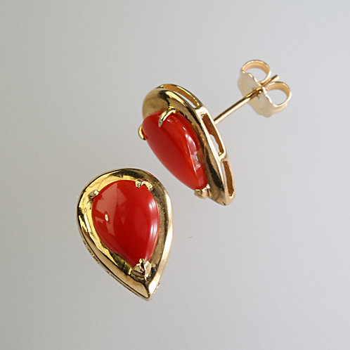 CORAL EARRING 19