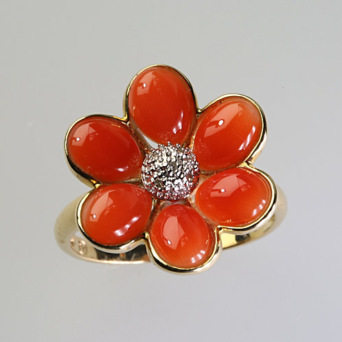 CORAL RING 19