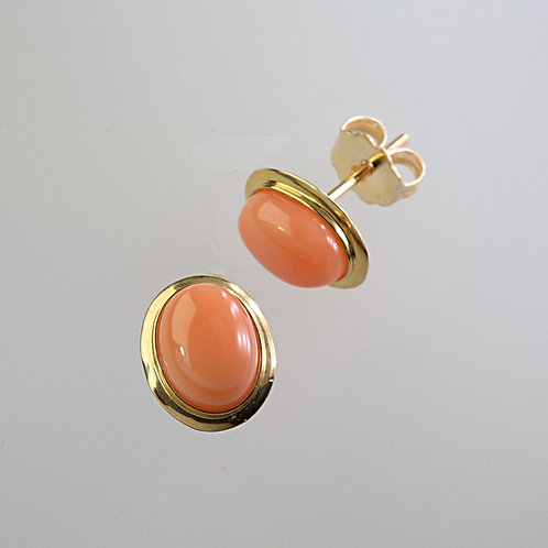 CORAL EARRING 30