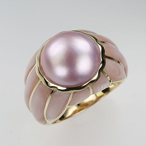 MABE PEARL RING 32