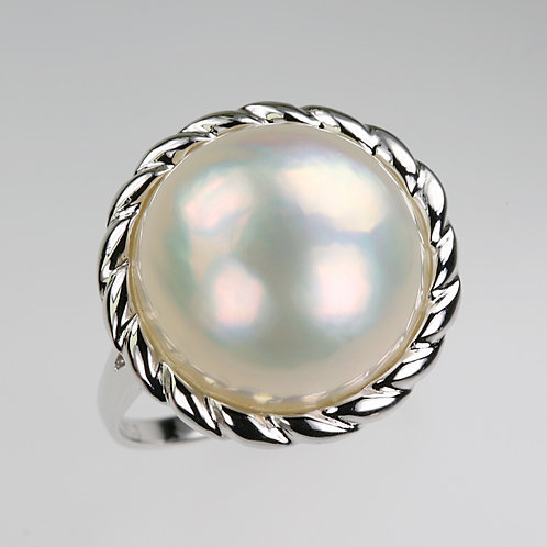 MABE PEARL RING 17