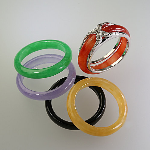copy of INTERCHANGEABLE JADE BAND RING 2